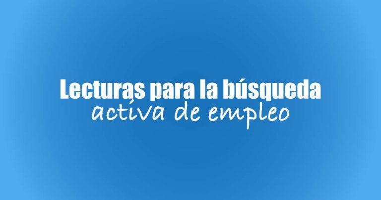 Búsqueda activa de empleo: libros que pueden ayudarte